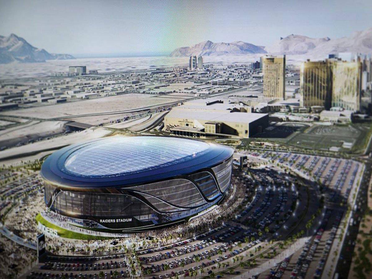 Las Vegas stadium - credit photo Las Vegas Weekly.