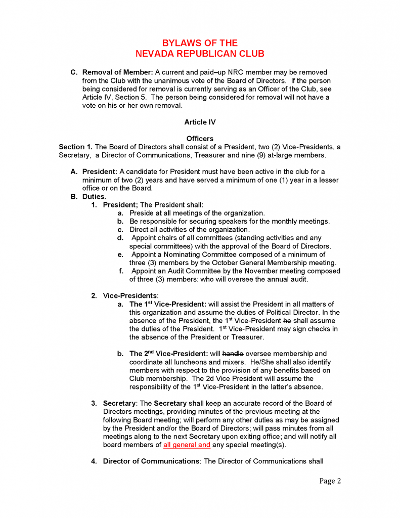 NRMC - Bylaws 2.5.2019 - Page 2