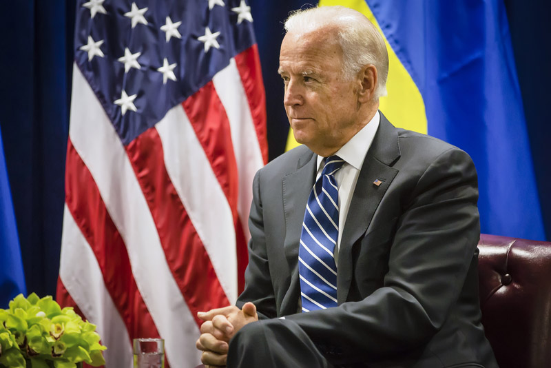 Joe Biden at a meeting